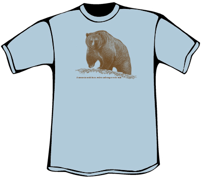 Grizzly T-Shirt (Heavyweight)