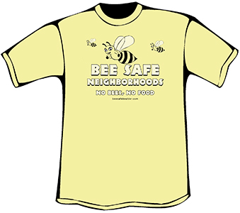 Bee SafeT-Shirt (Organic)