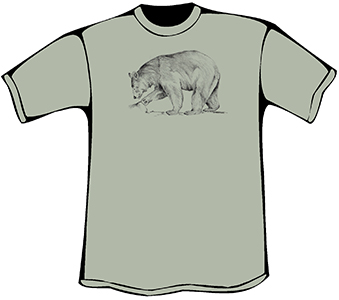 Black Bear T-Shirt (Heavyweight)