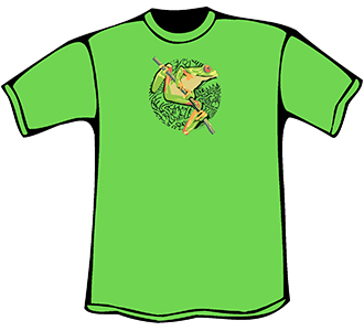 Tree Frog T-Shirt (Youth)
