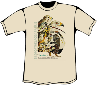 Birds of Sage and Prairie T-Shirt (Heavyweight)