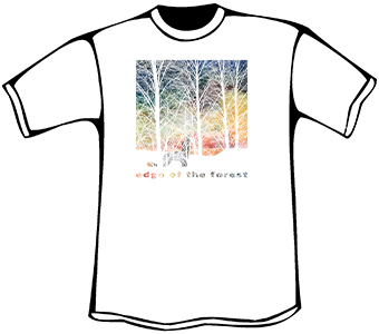 Edge of the Forest T-Shirt (Heavyweight - White)