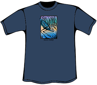 Great Blue Heron T-Shirt (Organic)
