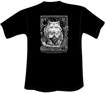 Night Lynx T-Shirt (Heavyweight)