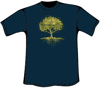 Peace Tree T-Shirt (Women's Relaxed Fit)