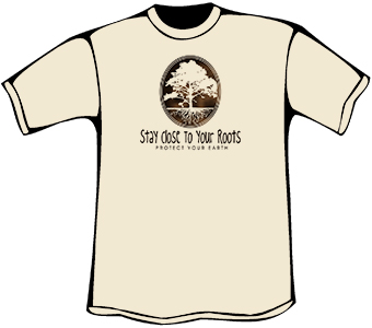Stay Close To Your Roots T-Shirt (Heavyweight)