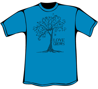 Love Grows T-Shirt (Women's Relaxed Fit)