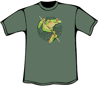 Tree Frog T-Shirt (Heavyweight)