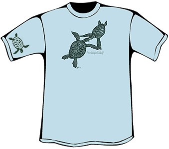 Turtles Embrace T-Shirt (Organic)