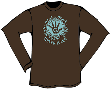 Water is Life T-Shirt (Longsleeve)