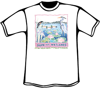 Save our Wetlands T-Shirt (Organic)
